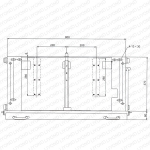 Earthing bar installation diagram(Type 1000)