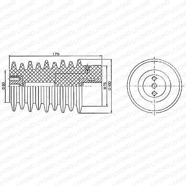 LYC123 12KV传感器