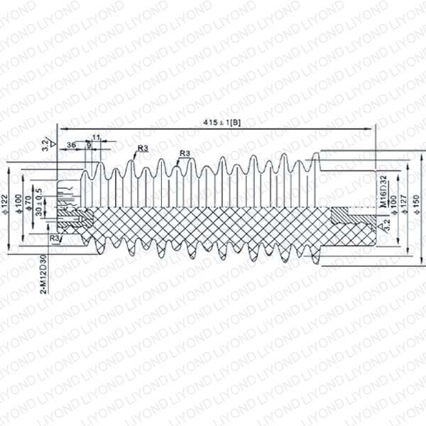 LYC140 40.5KV绝缘子