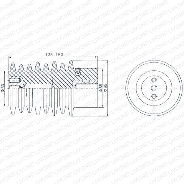 LYC120 12KV传感器