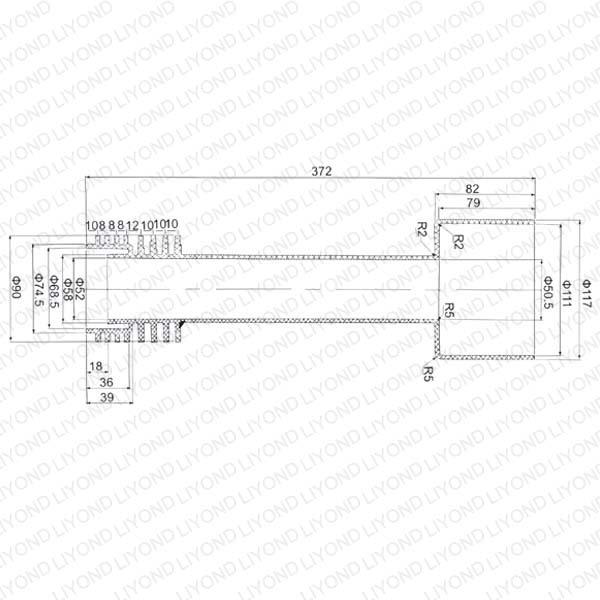 LYC157绝缘触臂环氧树脂断路器
