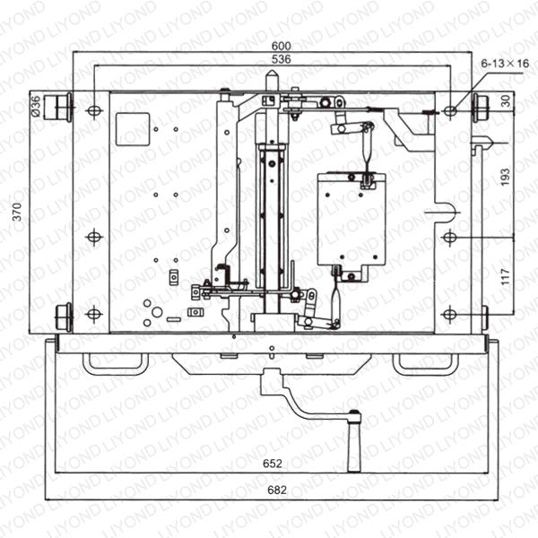 DPC-3(A)-800 底盘车