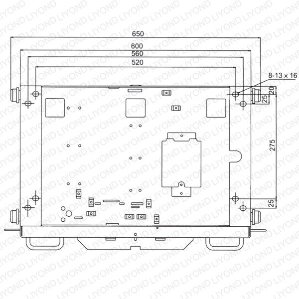 DPC-4-800 /XC2 底盘车(下层用)