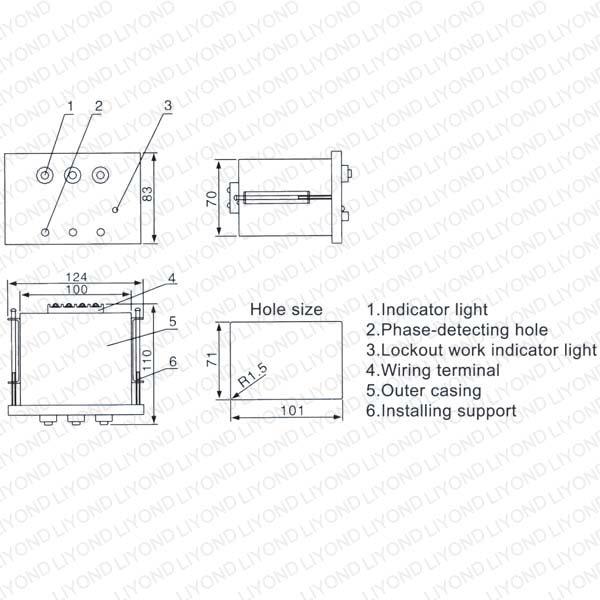 LYD105 DXN-Q高压带电显示器
