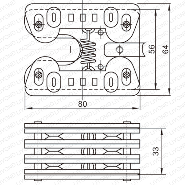 630A 扁触头 VCB