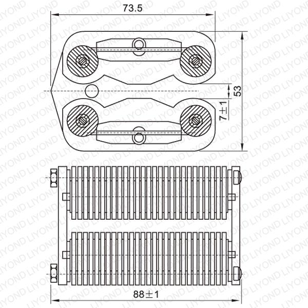 LYA504-GC7 1250A 断路器扁触头