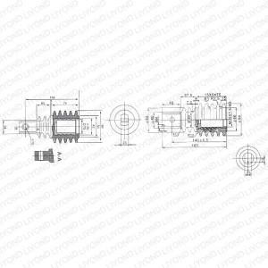 VS1-12 LYC170 高压绝缘拉杆