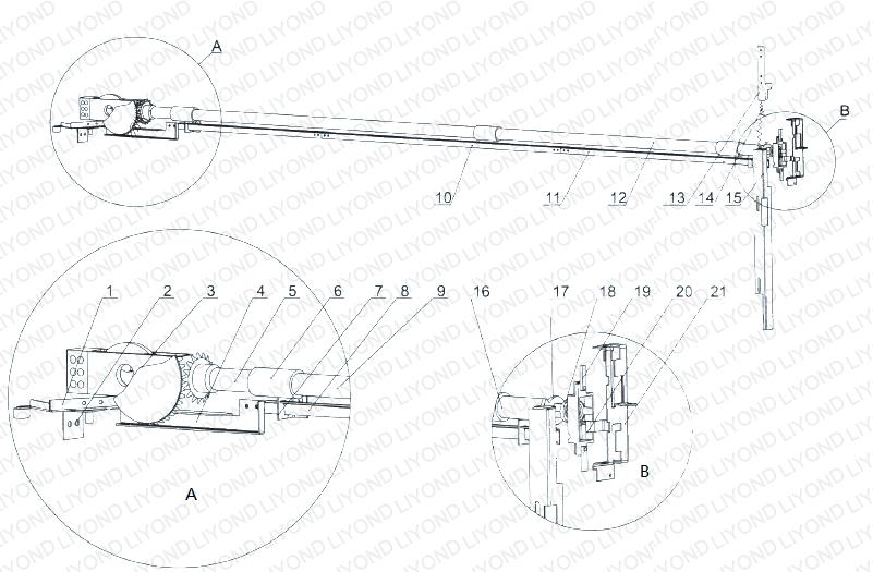 KYN61 接地联锁(连杆式)