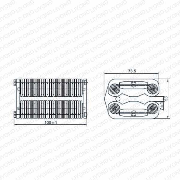 LYA505-GC7 1600A 断路器扁触头