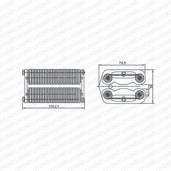 LYA506-GC7 1600A 扁触头