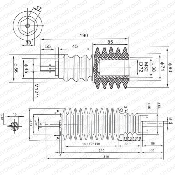 LYC175 高压绝缘杆