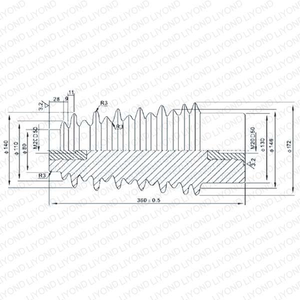 LYC139 40.5KV绝缘子