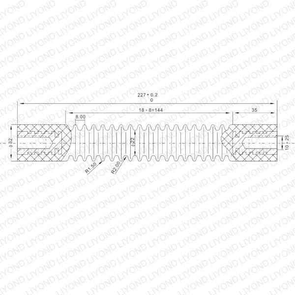 高原型绝缘拉杆 LYC179
