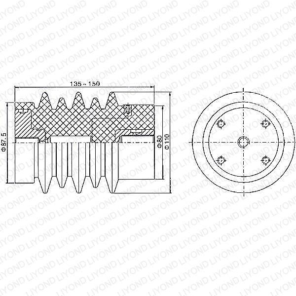 LYC124 12KV传感器
