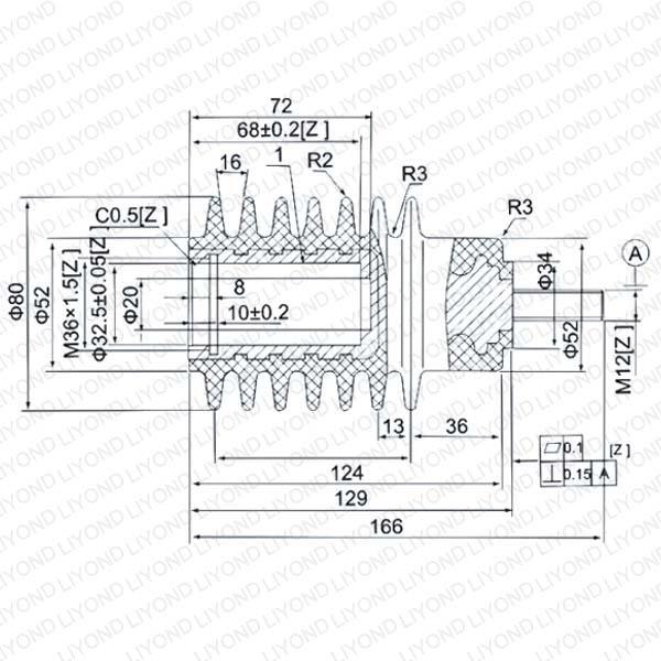 SMC 可调绝缘拉杆 LYC172