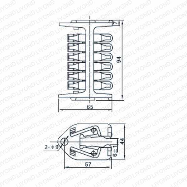 WCD- 510 纵旋式触头