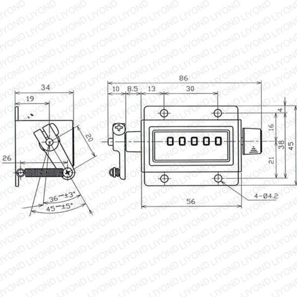 LYC180 计数器