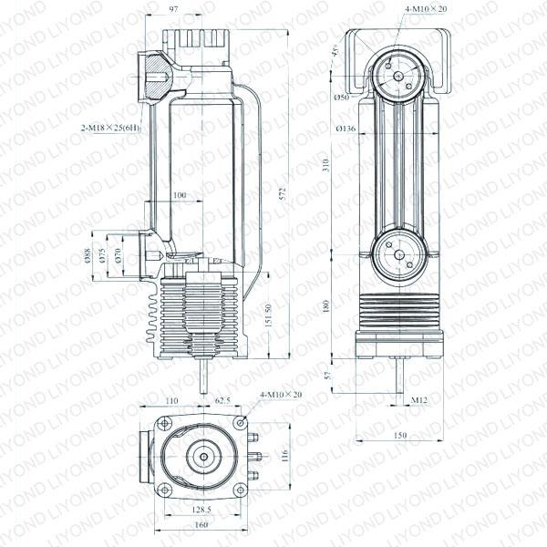 EEP-12/2500-40 固封极柱