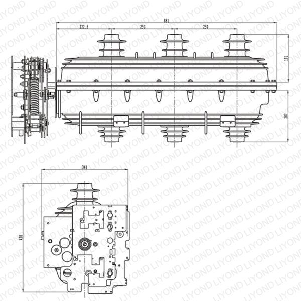 FLN-24 SF6 负荷开关