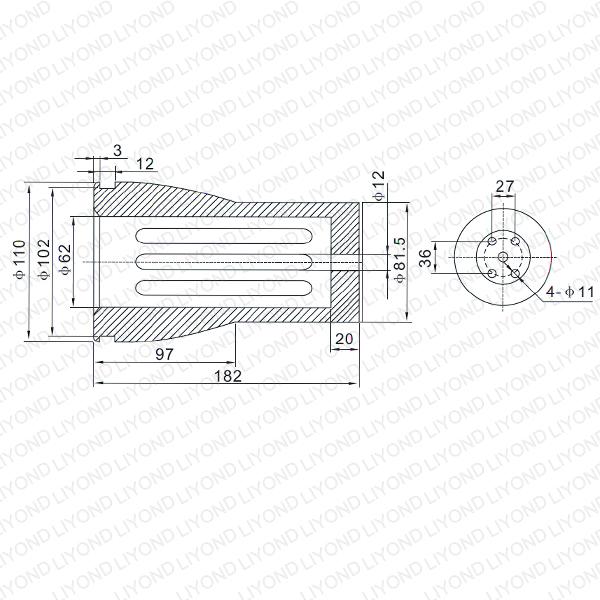 3150A VS1 触臂 LYB259