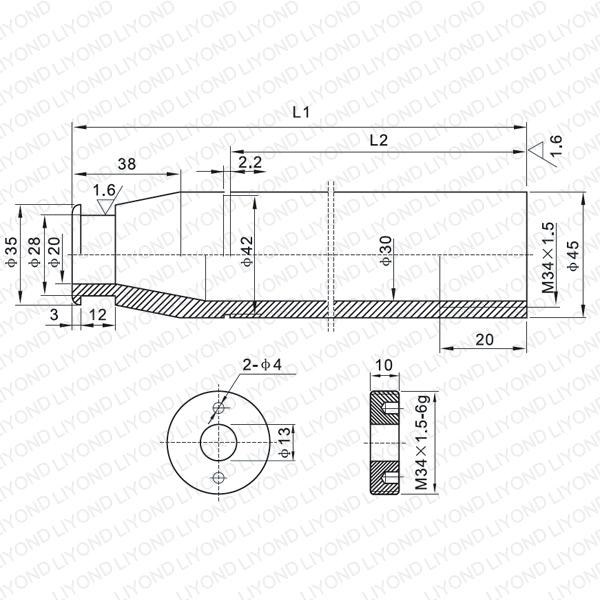 630A 触臂 LYB203-LYB207