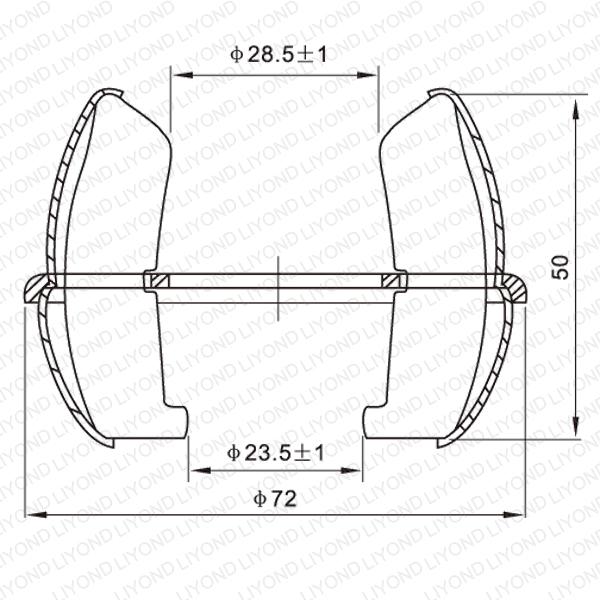 GC4-1000A 球形触头 LYA203
