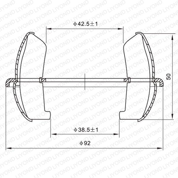 GC4-1250A 球形触头 LYA204