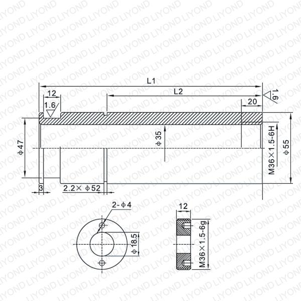 VD4 1600A 触臂 LYB222-LYB225