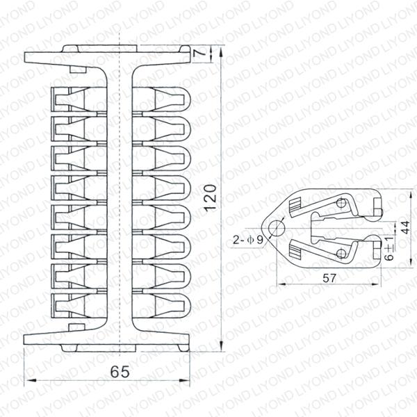 WCD-1600 纵旋式触头