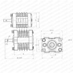 低压接触器辅助开关 F10-8