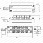 Hot product auxiliary contact FK10-I-33