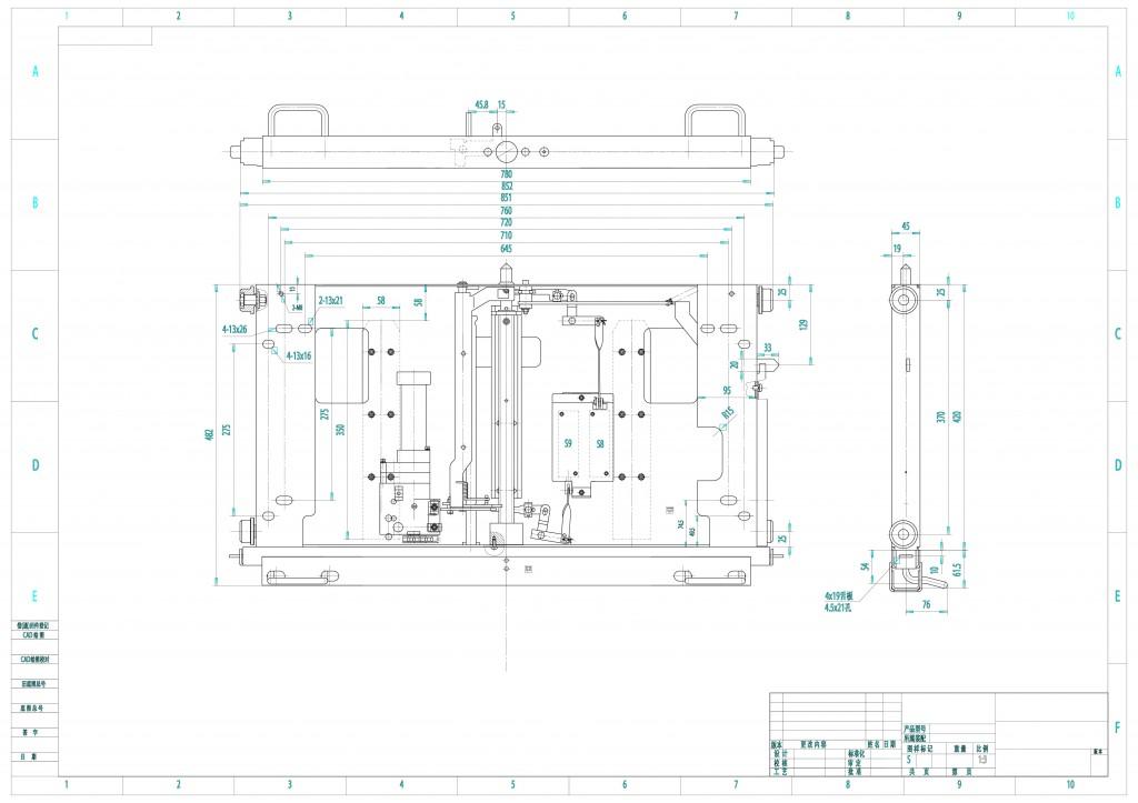 DPC-4-1000 电动底盘车24KV