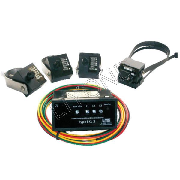 APJD-EKL3面板类型短路接地故障指示器